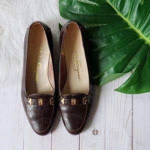 Salvatore Ferragamo Boutique Vintage Loafers